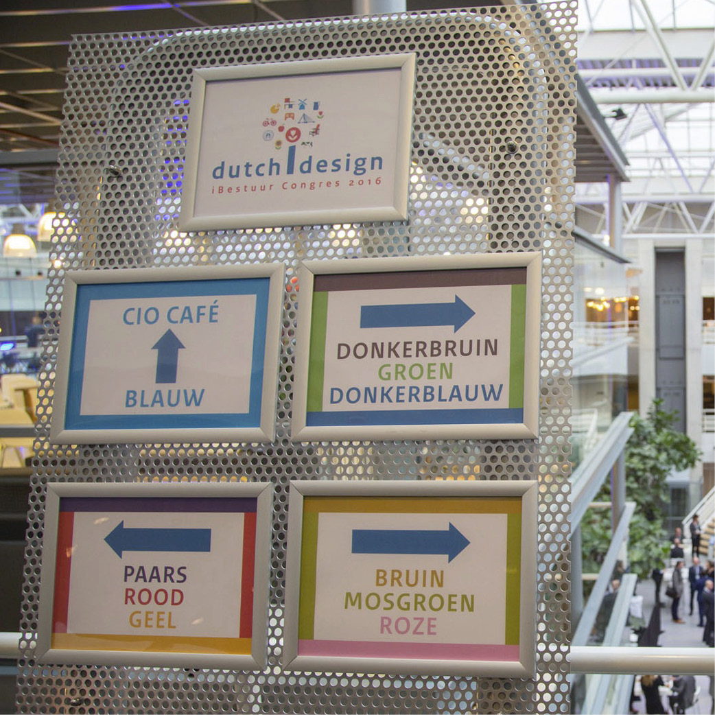 Decaprint voor event Dutch Design